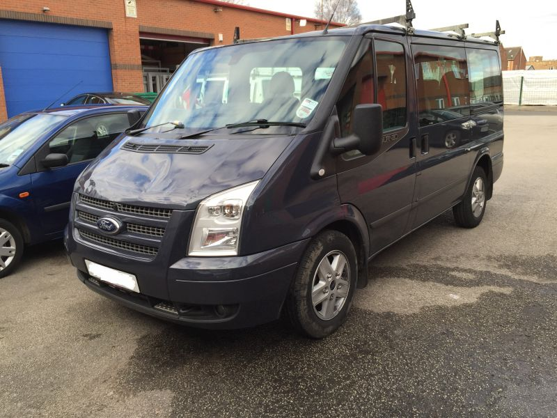 Ford Transit Roof Replacement 01: Swipe To View More Images