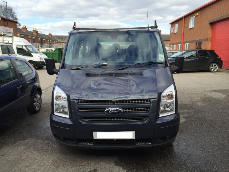 Ford Transit Roof Replacement 02: Swipe To View More Images