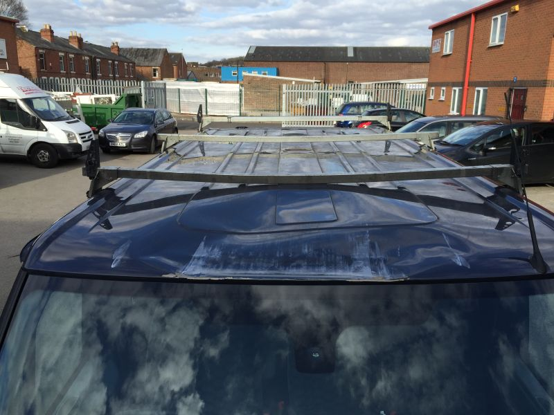 Ford Transit Roof Replacement 04: Swipe To View More Images