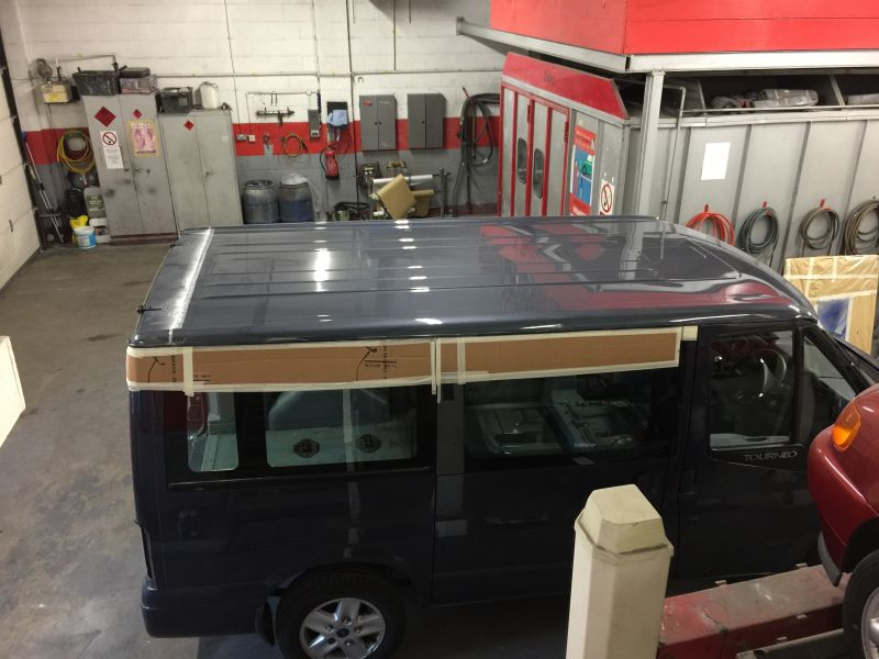 Ford Transit Roof Replacement 11: Swipe To View More Images
