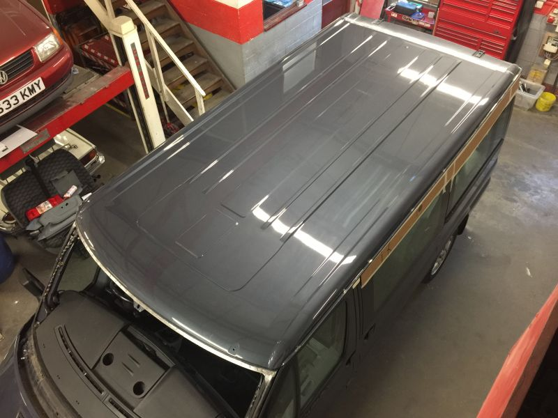 Ford Transit Roof Replacement 12: Swipe To View More Images