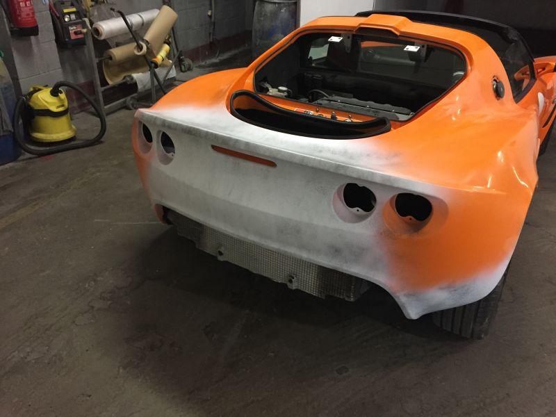 Lotus Exige Rear Fibre Glass Repair 12: Swipe To View More Images