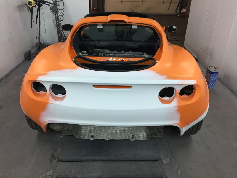 Lotus Exige Rear Fibre Glass Repair 13: Swipe To View More Images