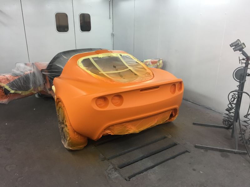 Lotus Exige Rear Fibre Glass Repair 15: Swipe To View More Images