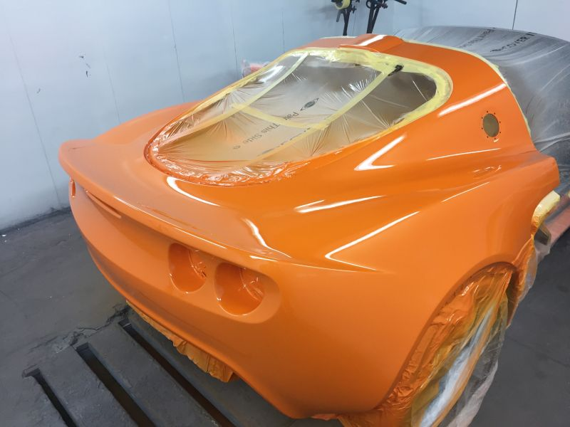 Lotus Exige Rear Fibre Glass Repair 16: Swipe To View More Images