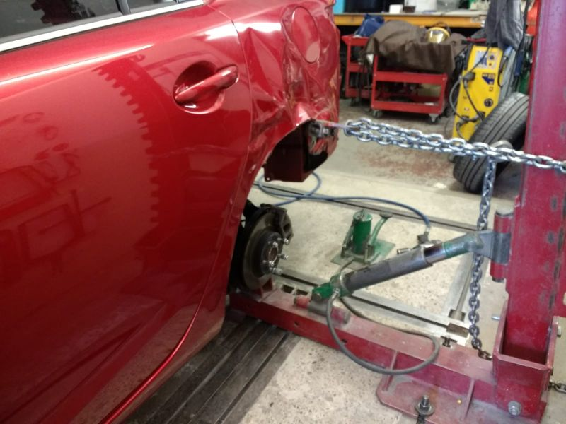 Mazda Rear Quarter Panel Replacement 08: Swipe To View More Images