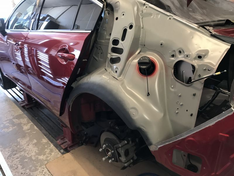 Mazda Rear Quarter Panel Replacement 10: Swipe To View More Images