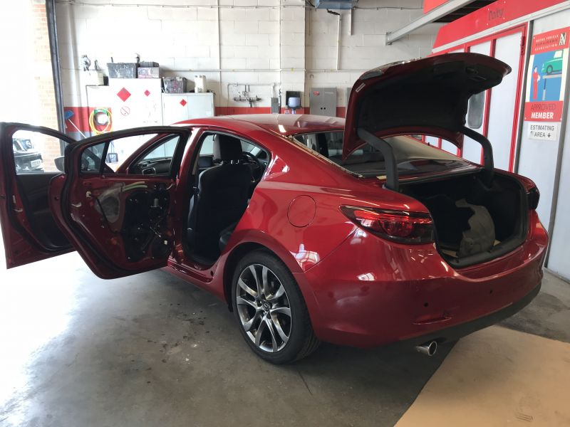 Mazda Rear Quarter Panel Replacement 15: Swipe To View More Images
