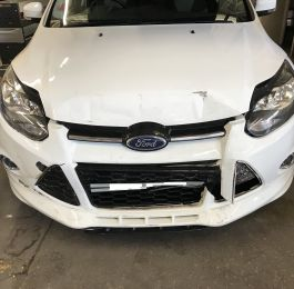 Ford Focus Front End Repair 01: Click Here To View Larger Image