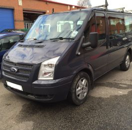 Ford Transit Roof Replacement 01: Click Here To View Larger Image