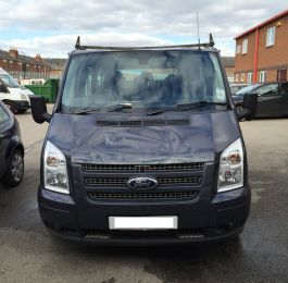 Ford Transit Roof Replacement 02: Click Here To View Larger Image
