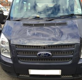 Ford Transit Roof Replacement 03: Click Here To View Larger Image