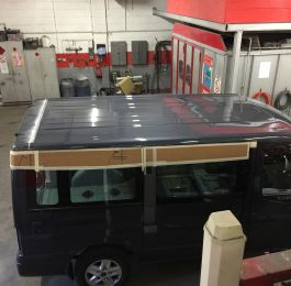 Ford Transit Roof Replacement 11: Click Here To View Larger Image
