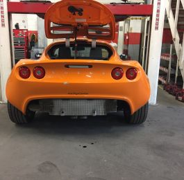 Lotus Exige Rear Fibre Glass Repair 01: Click Here To View Larger Image
