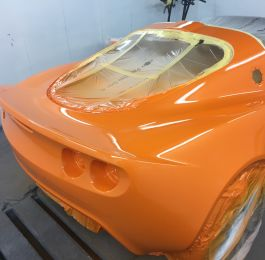 Lotus Exige Rear Fibre Glass Repair 16: Click Here To View Larger Image