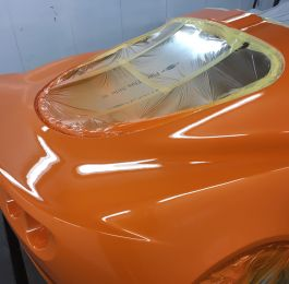 Lotus Exige Rear Fibre Glass Repair 17: Click Here To View Larger Image
