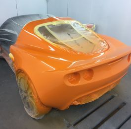 Lotus Exige Rear Fibre Glass Repair 18: Click Here To View Larger Image