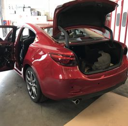 Mazda Rear Quarter Panel Replacement 16: Click Here To View Larger Image